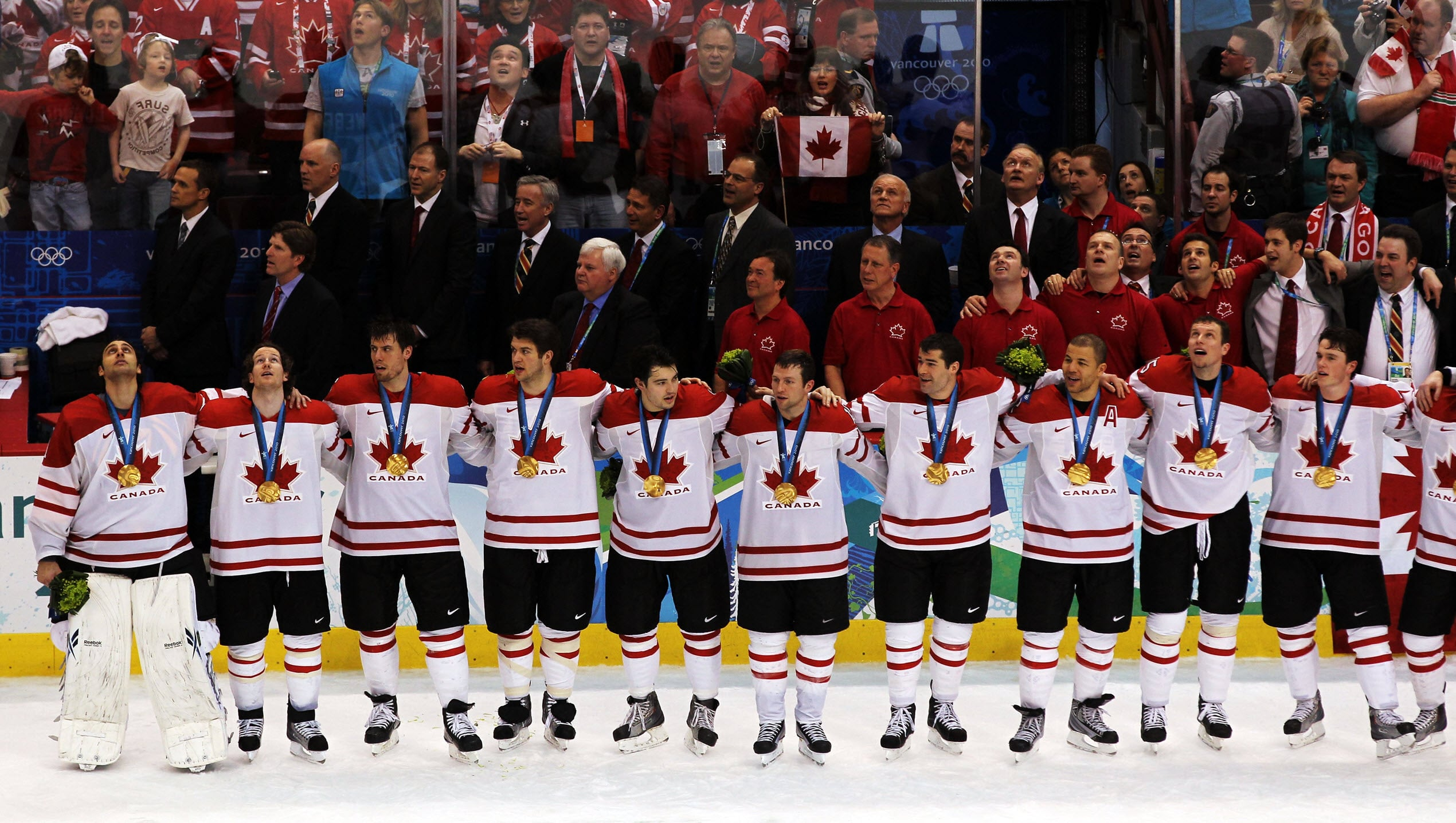 Canadian Hockey Team Vancouver Olympics