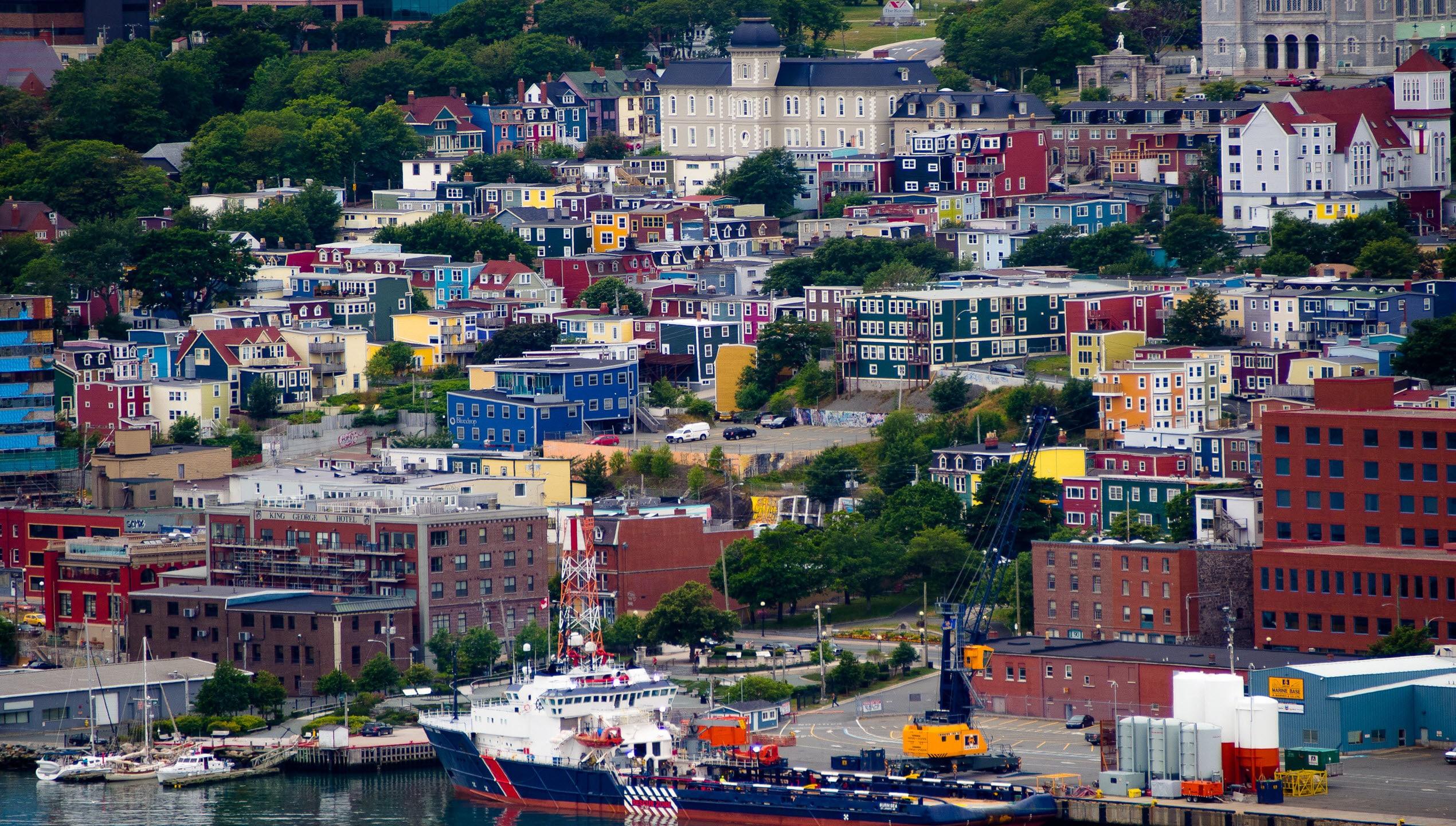 Jelly Bean Row Newfoundland