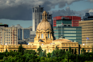 Legislature Building Edmonton Alberta Canada