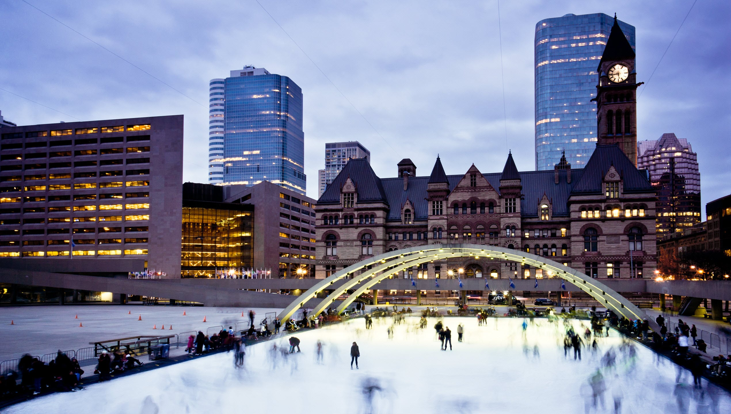 Nathan Phillips Square Skating Rink