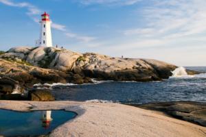 Nova Scotia Coastal Lighthouse