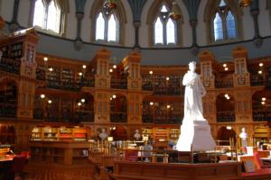 Ottawa Parliament Hill - Bibliothèque
