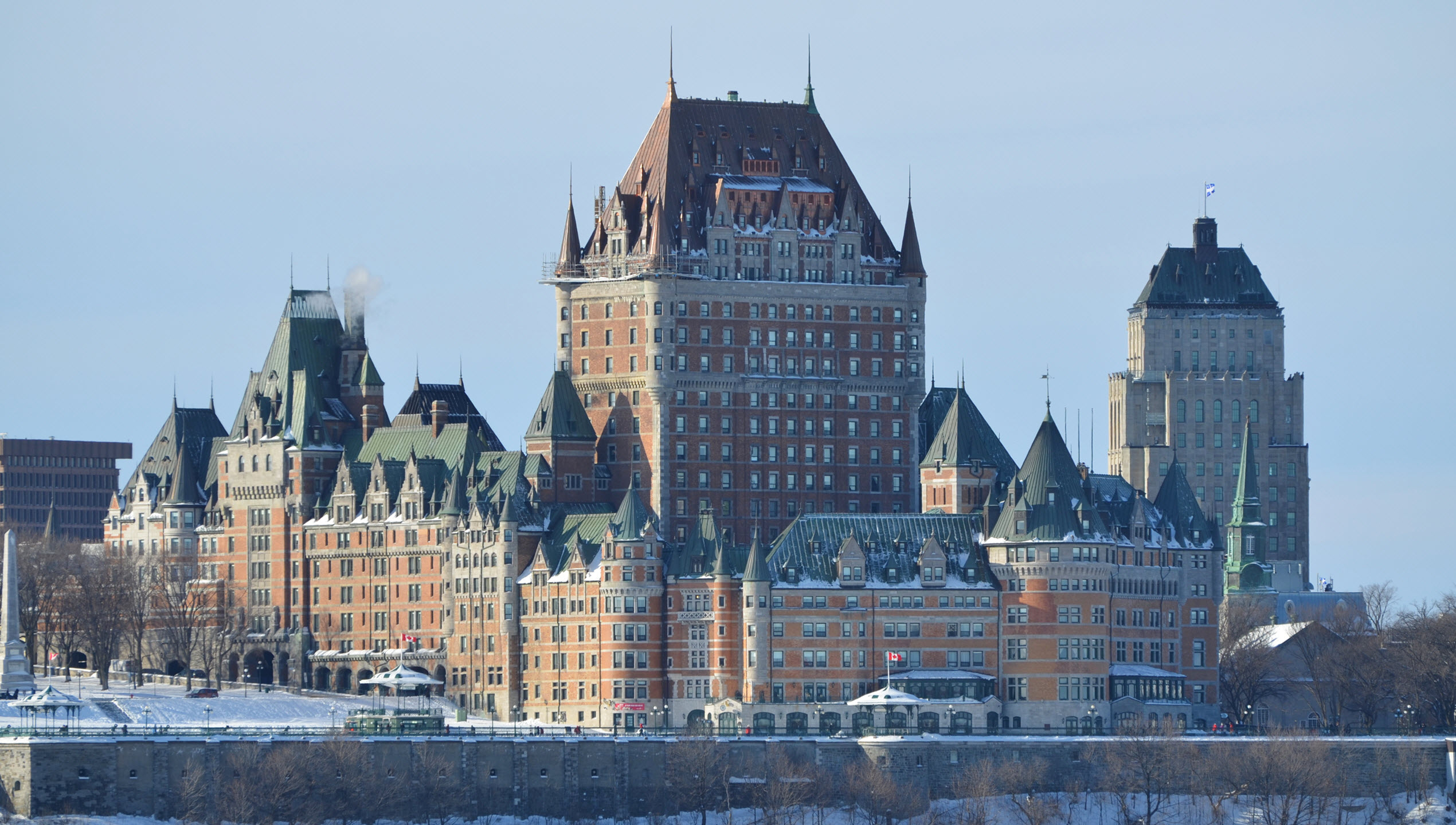 Quebec City - Chateau Frontenac 2012
