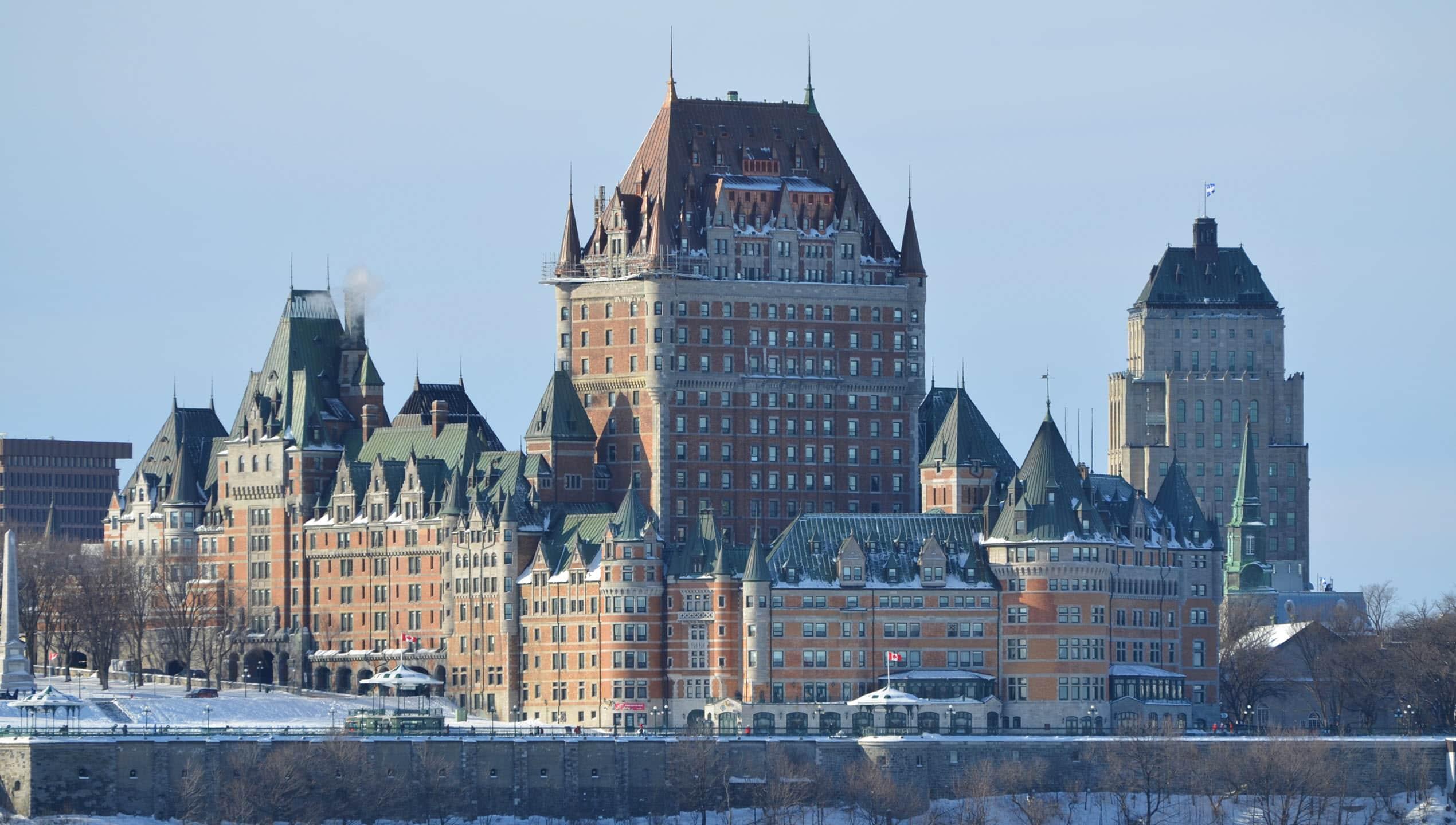 Quebec City - Chateau Frontenac 2012