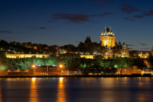 Quebec City from the St. Lawrence River