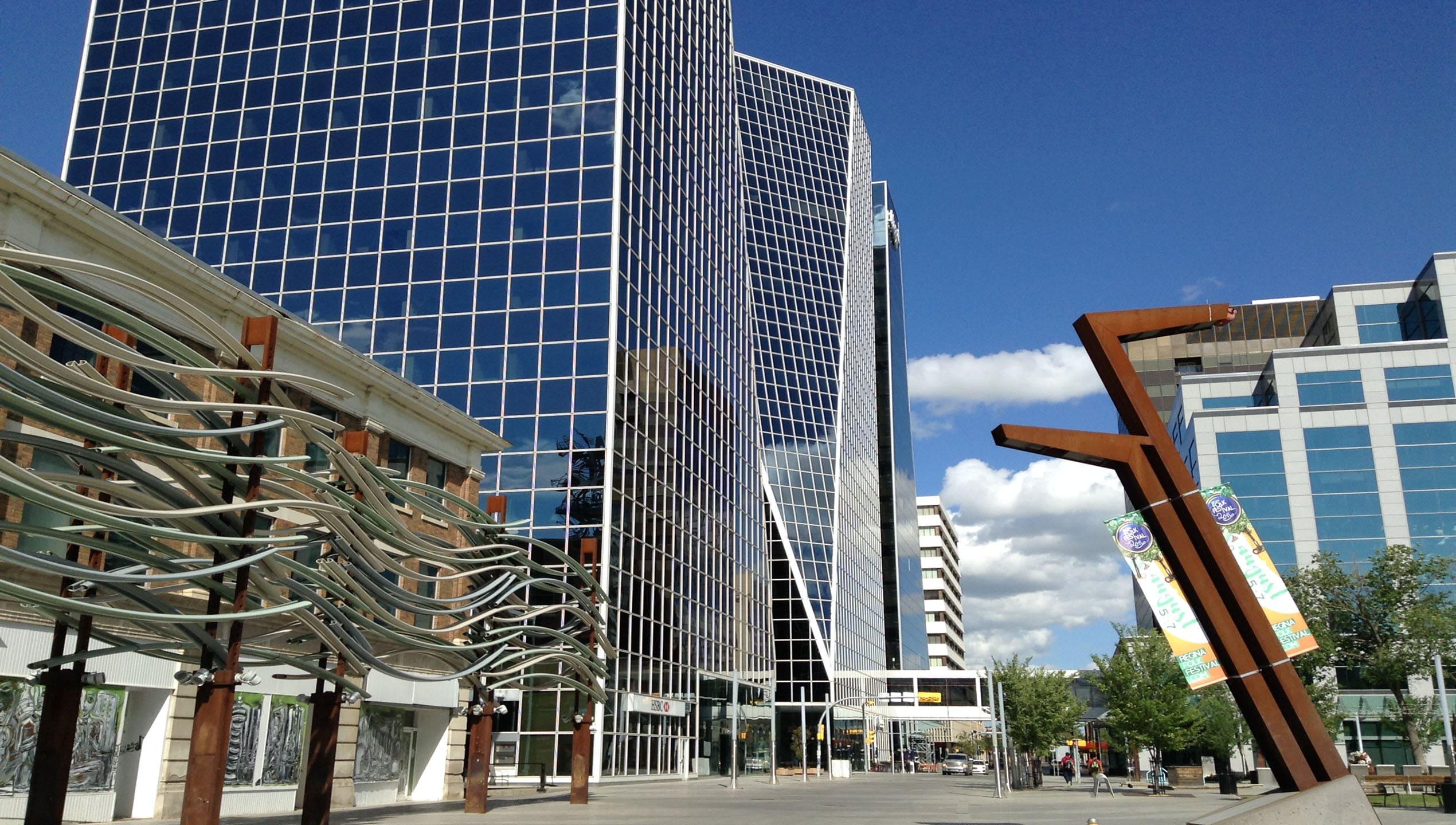 Regina Saskatchewan Art In City Center 2016jpg