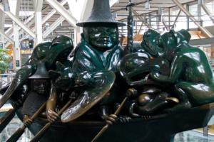 The Jade Canoe - Vancouver International Airport